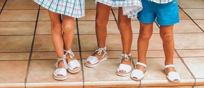Las menorquinas para niños de Castell triunfan entre los más pequeños